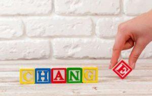 تغییرات شرکت
