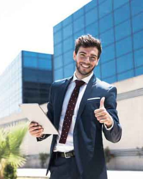 smiley-man-with-tablet-showing-approval_23-2148230741